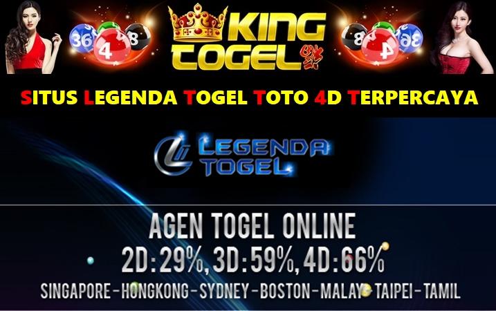 Situs Legenda Togel Toto 4D Terpercaya