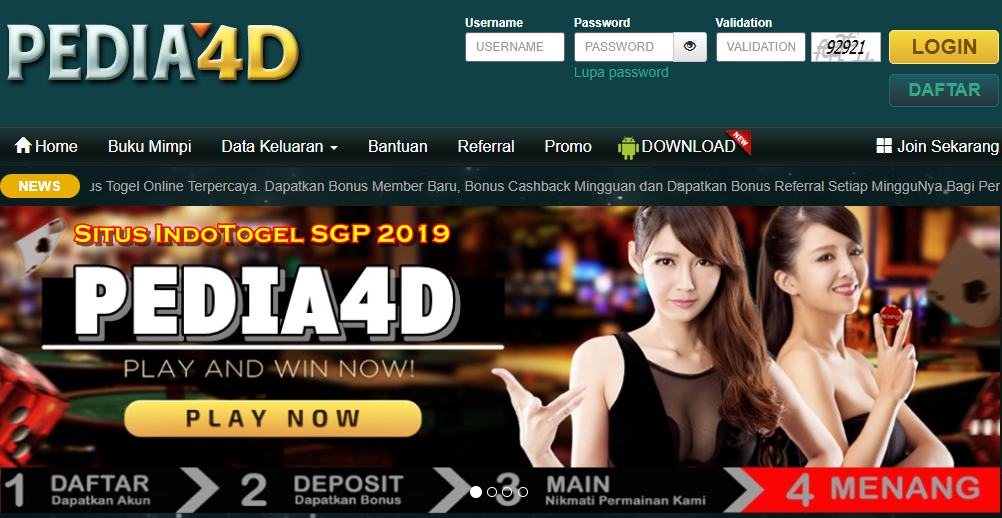 IndoTogel SGP 2019