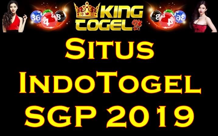 Situs IndoTogel SGP 2019