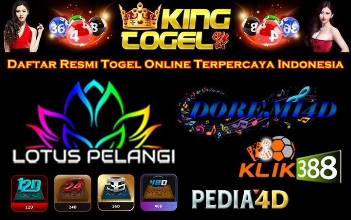 Daftar Resmi Togel Online Terpercaya Indonesia