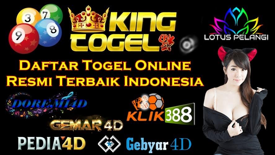 Daftar Togel Online Resmi Terbaik Indonesia