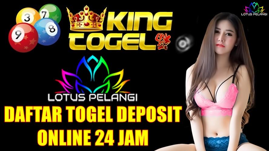 Daftar Togel Deposit Online 24 Jam